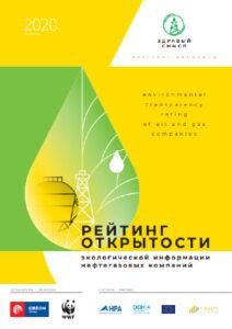 Итоговый рейтинг открытости экологической информации нефтегазовых компаний - 2020