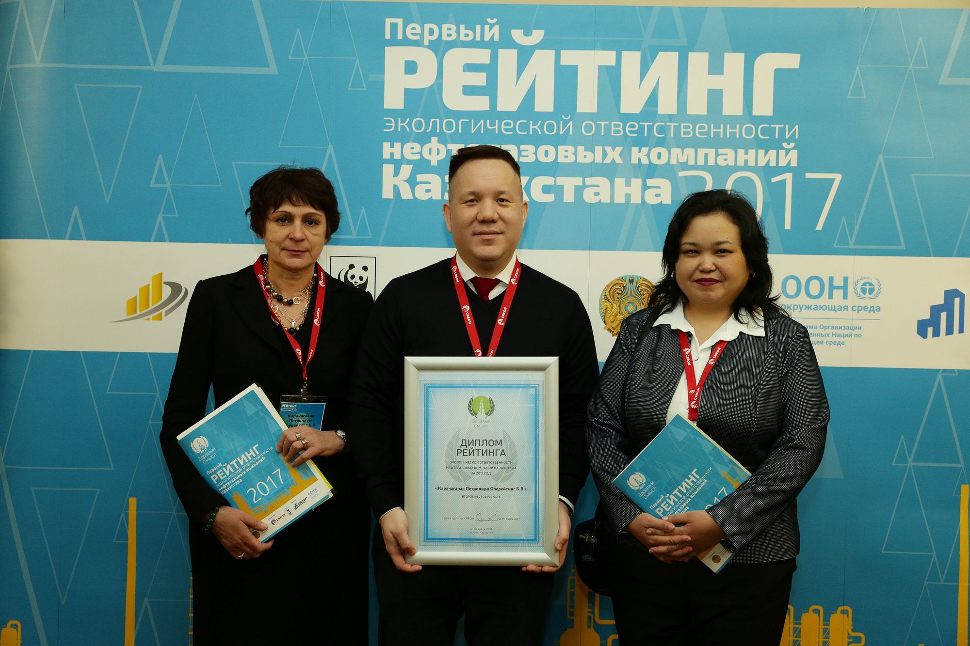 First Environmental Responsibility Rating of Oil&Gas Companies in Kazakhstan — Results Presentation