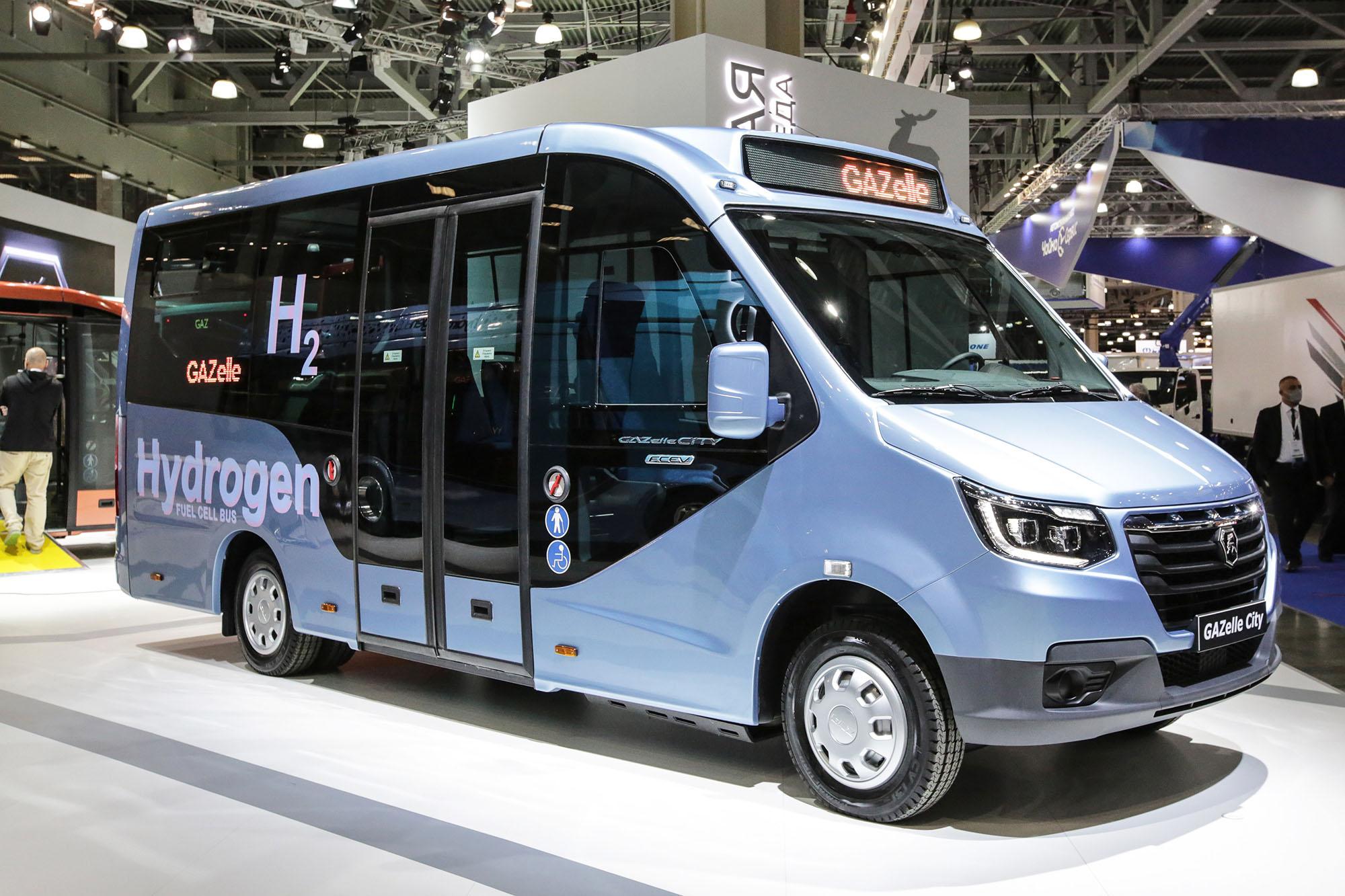 На «Комтранс-2021» представили водоробусы и элекстросамосвалы